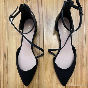 Aldo Ballerina Strap Flats